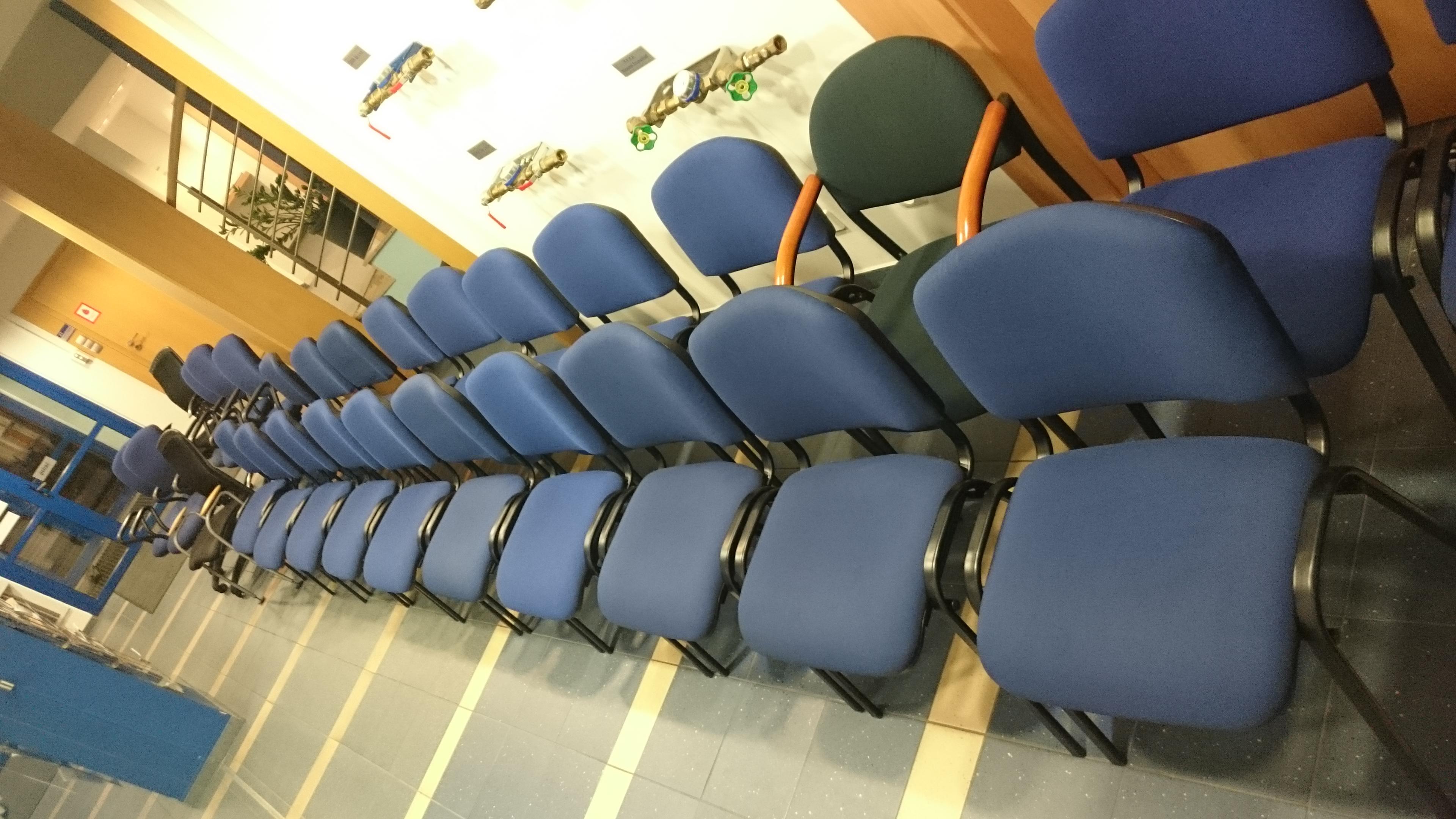 Wyczyszczone krzesła